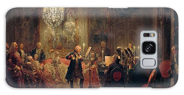 Flute Concert With Frederick The Great In Sanssouci Galaxy Case