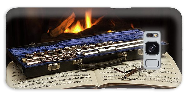 Flute Still Life Galaxy Case