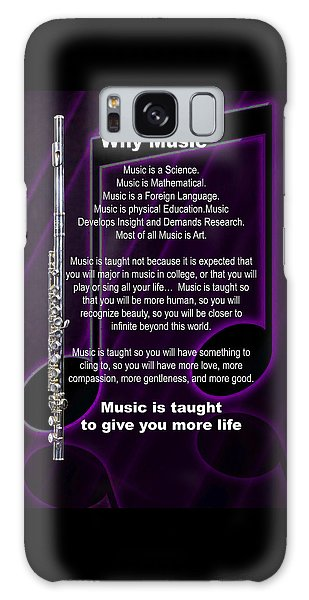 Flute Why Music Photographs Or Pictures For T-shirts 4824.02 Galaxy Case