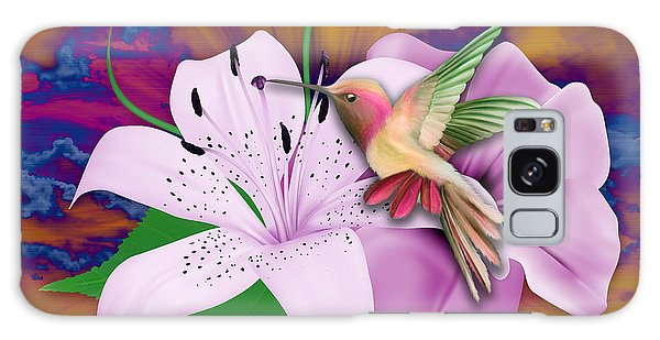 Galaxy Case featuring the mixed media Fluttering by Marvin Blaine