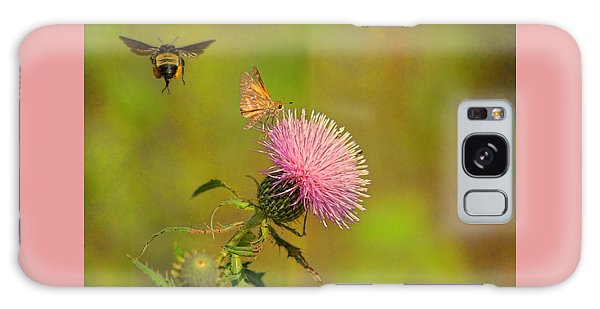 Fly By Bee Galaxy Case