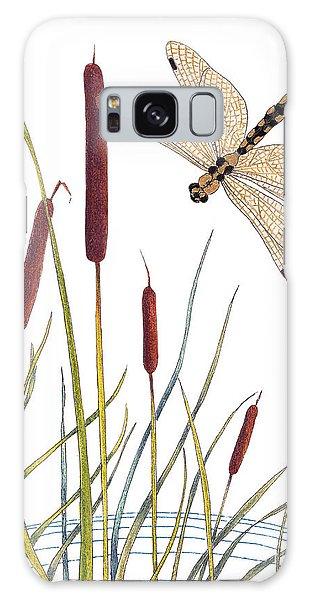 Fly High Dragonfly Galaxy Case
