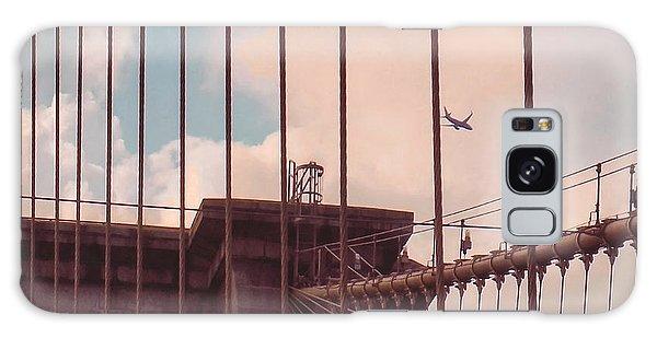 Fly Over Brooklyn  Galaxy Case