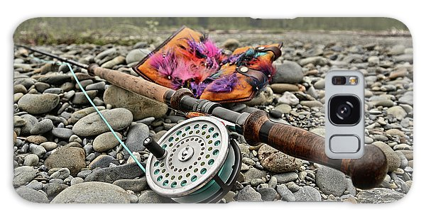 Fly Rod And Streamers Landscape Galaxy Case