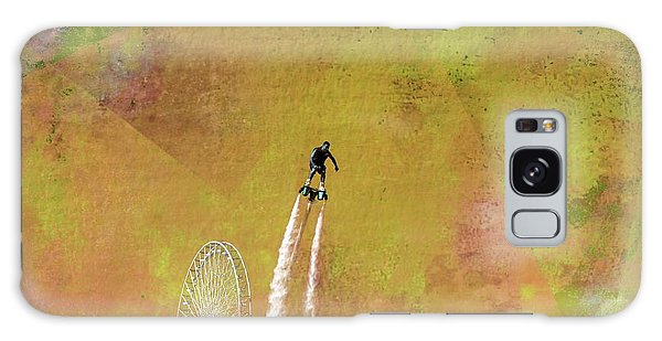 Flyboard, Sketchy And Painterly Galaxy Case