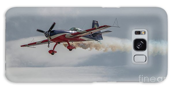 Flying Acrobatic Plane Galaxy Case