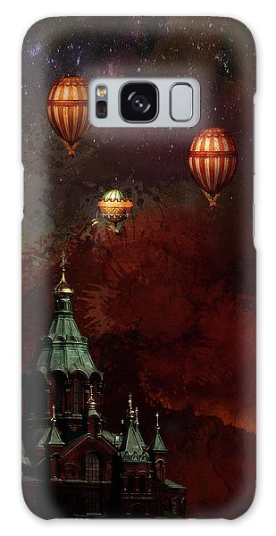 Flying Balloons Over Stockholm Galaxy Case
