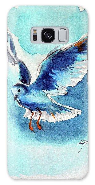 Flying Bird Galaxy Case by Kovacs Anna Brigitta