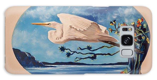 Flying Egret Galaxy Case