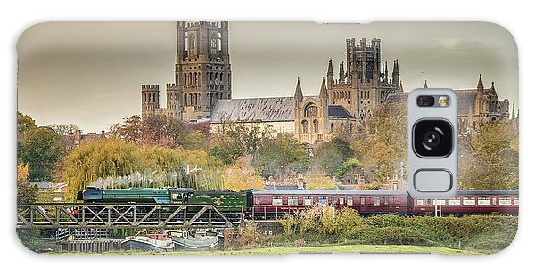 Galaxy Case featuring the photograph Flying Scotsman At Ely by James Billings