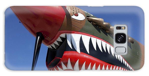 Flying Tiger Plane Galaxy Case