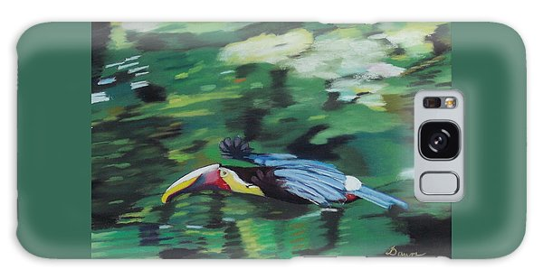 Flying Toucan In Costa Rica Galaxy Case