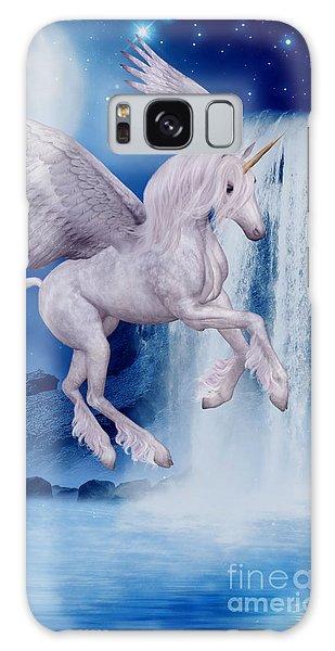 Flying Unicorn Galaxy Case