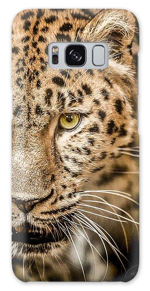 Leopard Galaxy S8 Case - Focus by Paul Neville