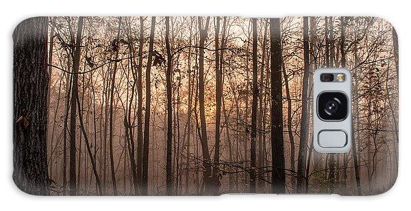 Fog At Sunrise Galaxy Case
