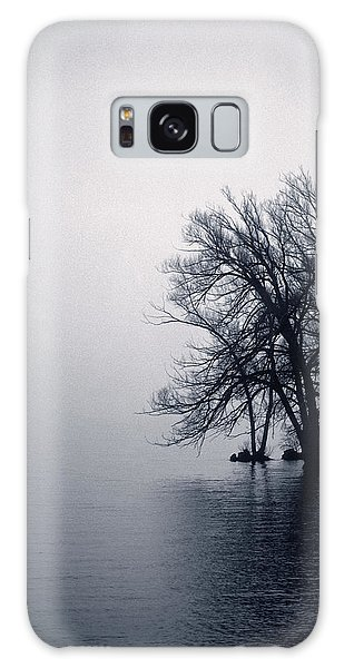Fog Day Afternoon Galaxy Case