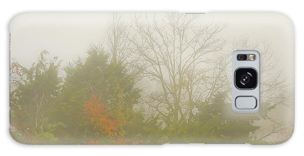 Galaxy Case featuring the photograph Fog In Autumn by Wanda Krack