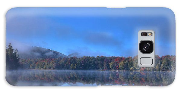 Galaxy Case featuring the photograph Fog Lifting On West Lake by David Patterson