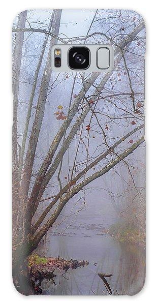 Fog On Buffalo Creek 1 Galaxy Case