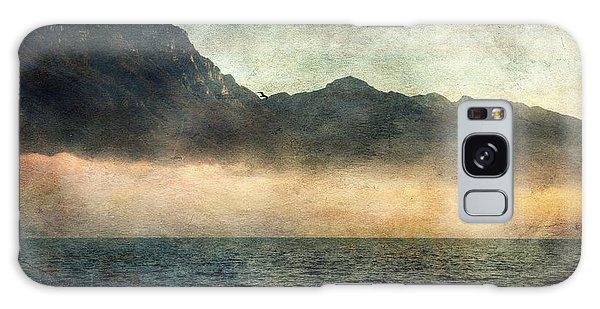 Fog On Garda Lake Galaxy Case