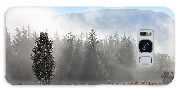 Fog On The Road To Fintry Galaxy Case by RKAB Works