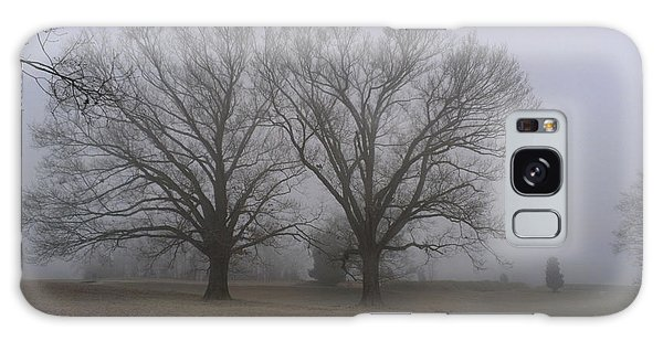 Fog On The Yorktown Battlefield Galaxy Case