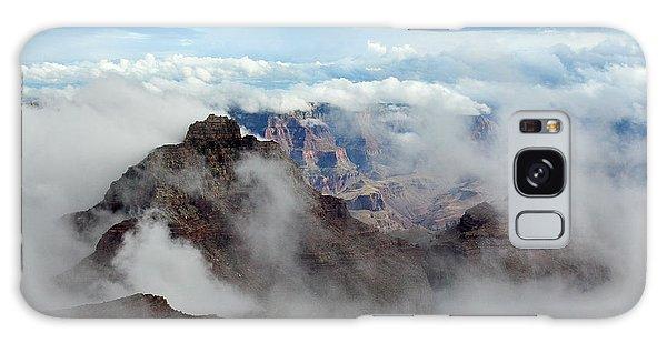 Fog Shrouded Vishnu Temple  Galaxy Case