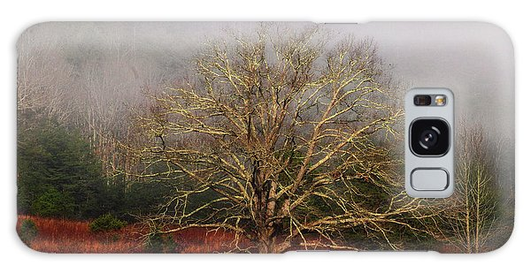 Fog Tree Galaxy Case by Geraldine DeBoer