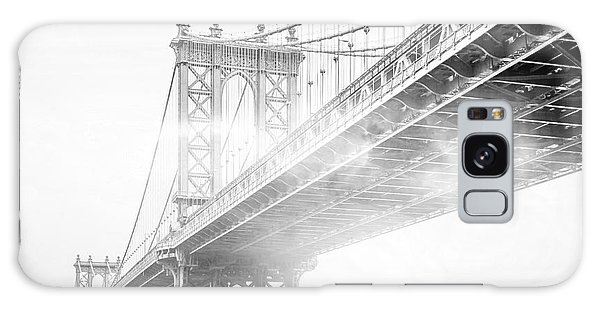 East Galaxy Case - Fog Under The Manhattan Bw by Az Jackson