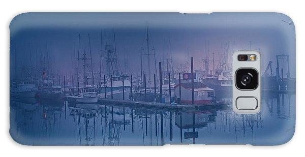 Foggy Bay Front Galaxy Case