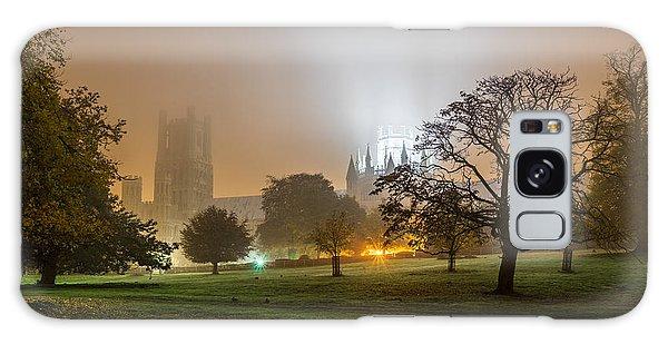 Foggy Cathedral Galaxy Case