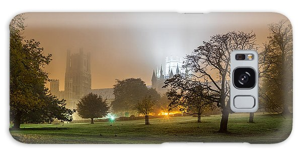 Galaxy Case featuring the photograph Foggy Cathedral by James Billings