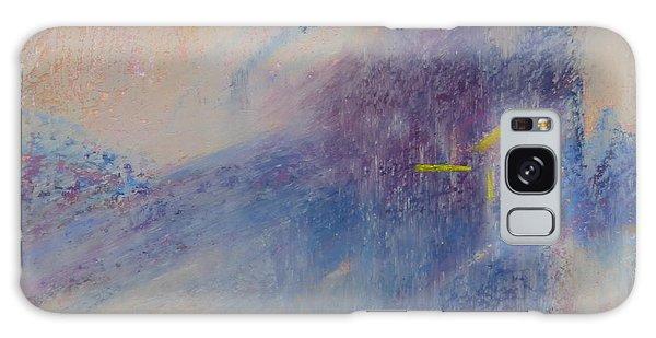 Foggy Crossroad Galaxy Case