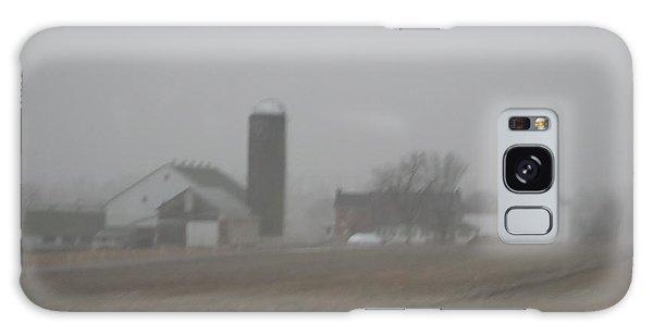 Foggy Evening Galaxy Case