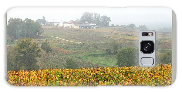 Foggy French Vineyard Galaxy Case