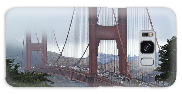 Foggy Golden Gate Galaxy Case by Margaret Brooks