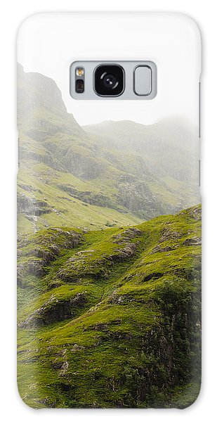 Galaxy Case featuring the photograph Foggy Highlands Morning by Christi Kraft