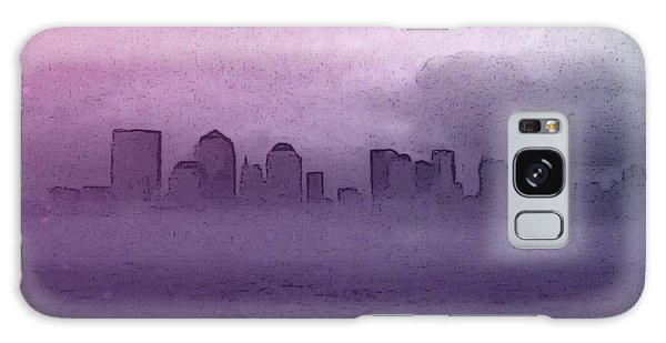 Foggy Manhatten Galaxy Case
