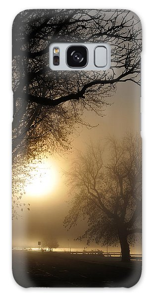 Foggy Morn Galaxy Case