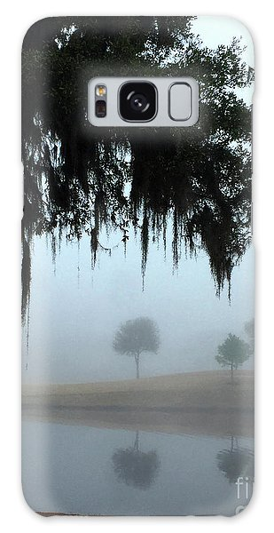 Galaxy Case featuring the photograph Foggy Morn Reflections by Rick Locke