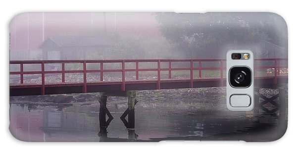 Foggy Morning At The Bridge Galaxy Case