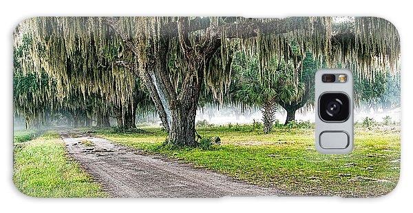 Foggy Morning - Coosaw Plantation Galaxy Case