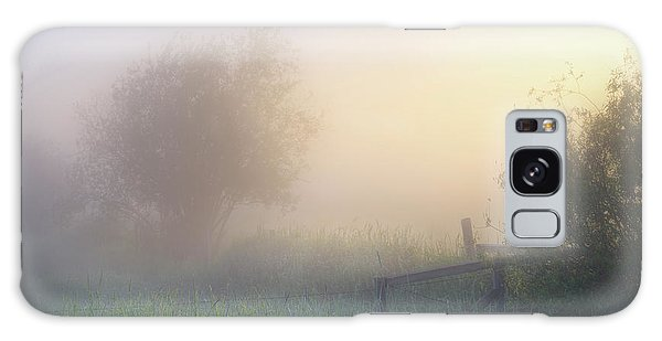 Foggy Morning Galaxy Case