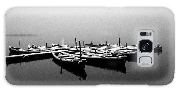 Foggy Morning On West Lake Galaxy Case