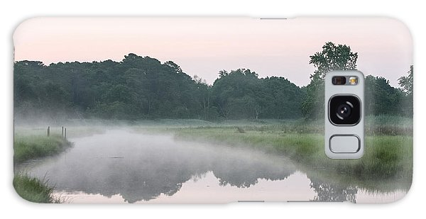Foggy Morning Reflections Galaxy Case by Allan Levin