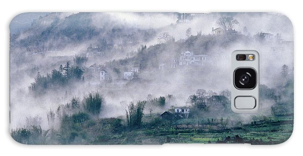 Foggy Mountain Of Sa Pa In Vietnam Galaxy Case