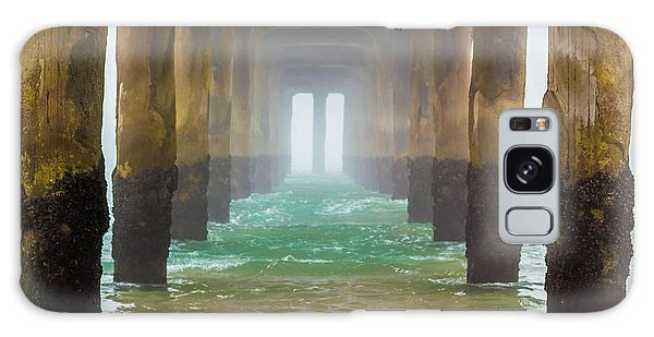 Coastal Fog Galaxy Case by April Reppucci
