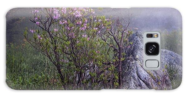 Foggy Pink Azalea Galaxy Case