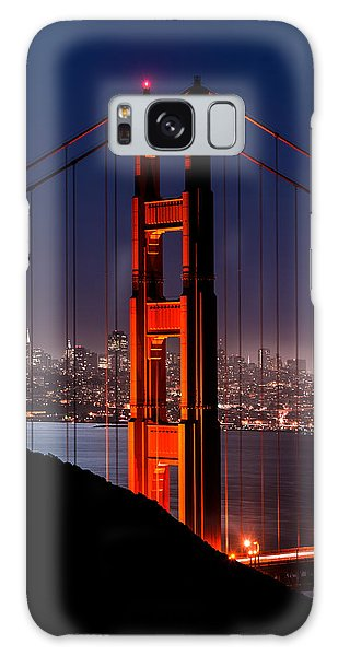 Foggy San Fransisco Galaxy Case