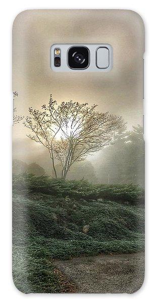 Foggy Sunrise Galaxy Case